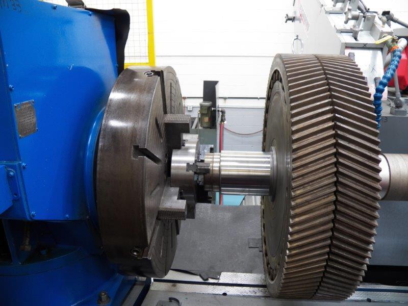 large-diameter grinding